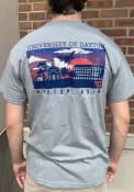 Dayton Flyers Comfort Colors Town T Shirt - Grey