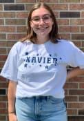 Xavier Musketeers Womens Star T-Shirt - White