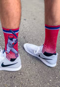 Dexter Fowler St Louis Cardinals Strideline Action Crew Socks - Red