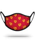 Strideline Kansas City Monarchs Repeat Heart Fan Mask - Red