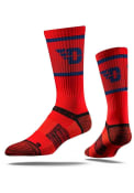 Dayton Flyers Strideline Team Logo Crew Socks - Red