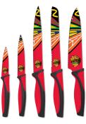 Chicago Blackhawks Red 5-Piece Kitchen Knives Set