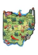 Ohio Map Magnet