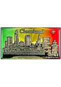 Cleveland Rainbow Foil Magnet