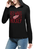 47 Detroit Red Wings Womens Black Crosstown Hoodie