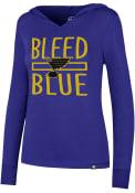 47 St Louis Blues Womens Blue Crosstown Hoodie