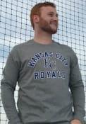 47 Kansas City Royals Grey Super Rival Tee