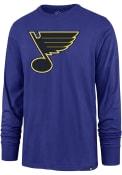 St Louis Blues 47 Imprint T Shirt - Blue