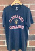 Cleveland Cavaliers 47 Varsity Arch Club T Shirt - Black
