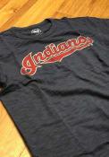 Cleveland Indians 47 Scrum Fashion T Shirt - Navy Blue
