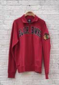 47 Chicago Blackhawks Red Striker 1/4 Zip Fashion Pullover