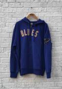 47 St Louis Blues Blue Striker Zip Fashion