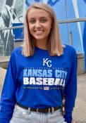 Kansas City Royals 47 Super Rival T Shirt - Blue
