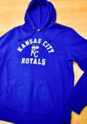 47 Kansas City Royals Blue Headline Hood Hoodie