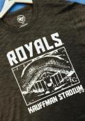 Kansas City Royals 47 Scrum Fashion T Shirt - Grey
