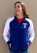 47 Texas Rangers Womens Headline Blue Track Jacket