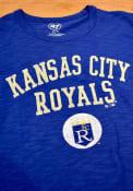 Kansas City Royals 47 Scrum Fashion T Shirt - Blue