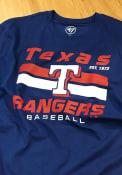 Texas Rangers 47 Super Rival T Shirt - Blue