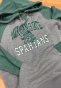 47 Michigan State Spartans Match Raglan Grey Fashion Hood