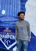 47 Kansas City Royals Grey Imprint Match Fashion Sweatshirt