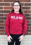 Detroit Red Wings 47 End Line Club Hooded Sweatshirt - Red