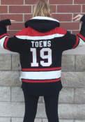 Jonathan Toews Chicago Blackhawks 47 Superior Lacer Fashion Hood - Black