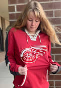 Detroit Red Wings 47 Tahoe Lace Up Fashion Hood - Red