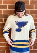 St Louis Blues 47 Center Ice Fashion T Shirt - Brown
