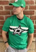 Dallas Stars 47 Stripe Chest Legion T Shirt - Kelly Green