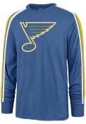 St Louis Blues 47 Stripe Arm Legion T Shirt - Blue