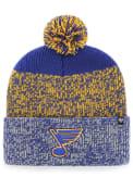 47 St Louis Blues Blue cuff knit Knit Hat