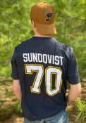 Oskar Sundqvist St Louis Blues 47 Most Valuable Player T-Shirt - Navy Blue