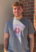 Dayton Flyers Number One Match Fashion T Shirt - Grey