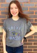 Drexel Dragons Number One Match Fashion T Shirt - Grey
