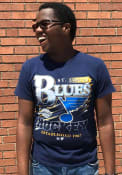 St Louis Blues 47 Slapshot Fashion T Shirt - Black