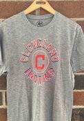 47 Cleveland Indians Grey Circle Match Triblend Fashion Tee