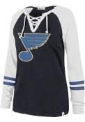 St Louis Blues Womens 47 Full Time T-Shirt - Blue