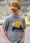 St Louis Blues 47 NHL All Star Game 2020 T Shirt - Grey