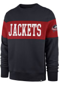 Columbus Blue Jackets 47 Interstate Fashion Sweatshirt - Navy Blue