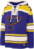 St Louis Blues 47 Superior Lacer Fashion Hood - Blue