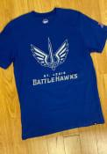 St Louis Battlehawks 47 Imprint 2 Peat T Shirt - Blue