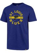 St Louis Blues 47 Roundabout Club T Shirt - Blue