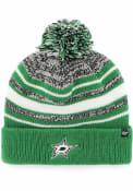 Dallas Stars Youth 47 Bubbler Knit Hat - Green
