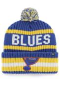 St Louis Blues 47 Bering Cuff Knit - Blue