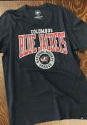 Columbus Blue Jackets 47 Goon Club T Shirt - Navy Blue