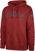 Chicago Bulls 47 Striker Fashion Hood - Red