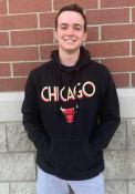 Chicago Bulls 47 City Series Headline Hooded Sweatshirt - Black