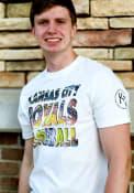 Kansas City Royals 47 Two Peat Flanker Fashion T Shirt - White