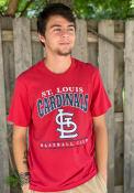St Louis Cardinals 47 RESET FRANKLIN Fashion T Shirt - Red