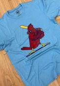 St Louis Cardinals 47 Imprint Club T Shirt - Light Blue